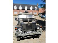Military Lightweight Airportable Series III Land Rover LHD