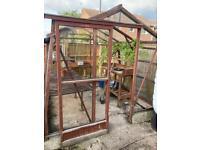 Alton cedar greenhouse with extras