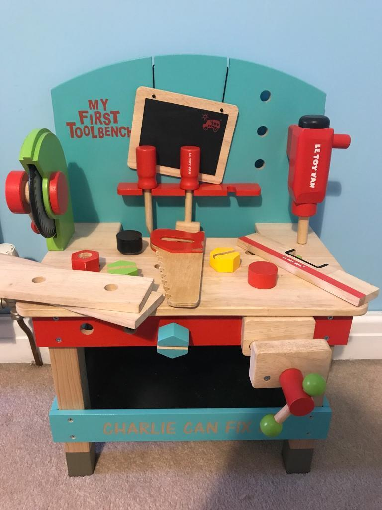 Superb My First Tool Bench By Le Toy Van In Stockport Manchester Gumtree Creativecarmelina Interior Chair Design Creativecarmelinacom