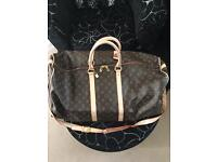 Holdall bag in Louis Vuitton style