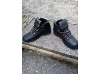 Timberland Euro Hikers UK 10 Black leather