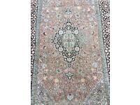 Silk handmade rug