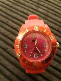 Ladies pink ice watch
