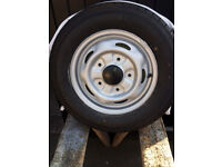 Ford Transit 15 inch refurbished wheel, with new, unused 195/70R15C tyre. £70