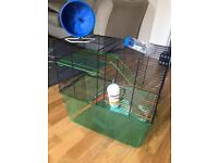 Large 'gerbilarium' gerbil/hamster cage