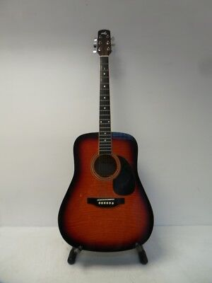 Lorenzo F1 Flame Series Acoustic Guitar