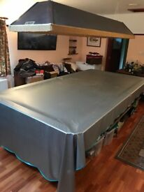 Large snooker table