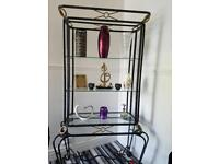 Display cabinet and dinning table with 6 chairs