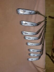 Titleist set of irons. 3 iron -pw. CBS