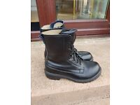 Grafters Black Boots , cadet boots / work boots