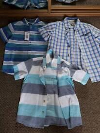 Boys Short Sleeved Shirts Age 6-7