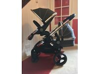 iCandy Peach 3 2016 Truffle Double Pram Pushchair CAN POST