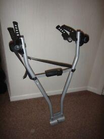 Thule 2 bike rack that fits onto a tow bar
