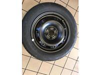 2004 vw polo wheel& tyre