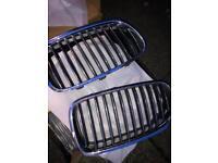 Bmw f10 grile chrome.original