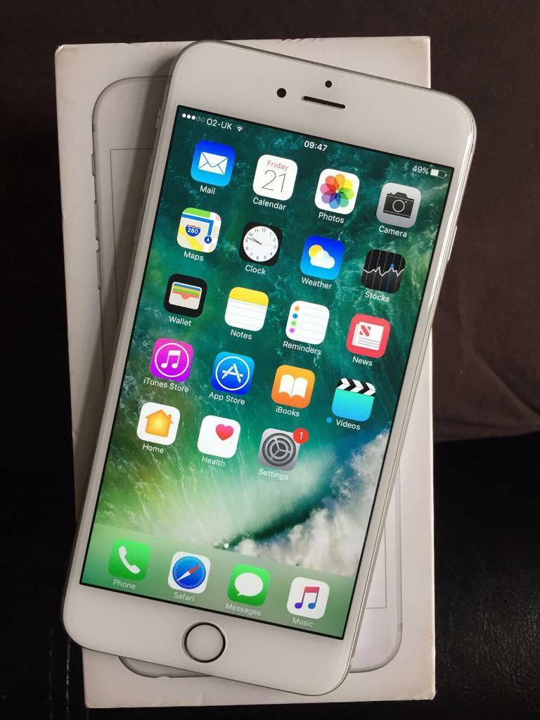 iPhone 6S Plus 02GiffgaffTesco 16GB silverin Milton Keynes, BuckinghamshireGumtree - iPhone 6S Plus 02 Network Used with a Tesco sim mainlySilver 16GB Some light scratches on screen Box with charger Can deliver £300