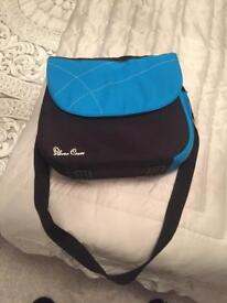 Silver cross changing bag blue brand new and unused