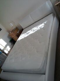5' low king-size bed and mattress