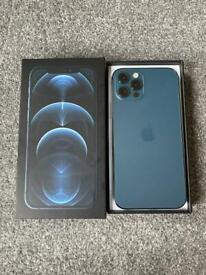 iPhone 12 Pro 128GB UNLOCKED Pacific Blue