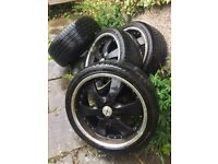 4 as new Rovelo 255/35R20 97W XL, ZR tyres on alloy wheels will fit type 5 VW