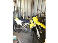 Motocross bike Suzuki RMZ 450