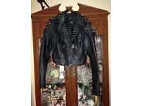 Assos Studded leather Jacket