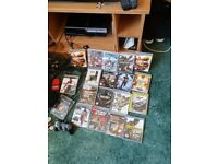 Playstation 3 and various games