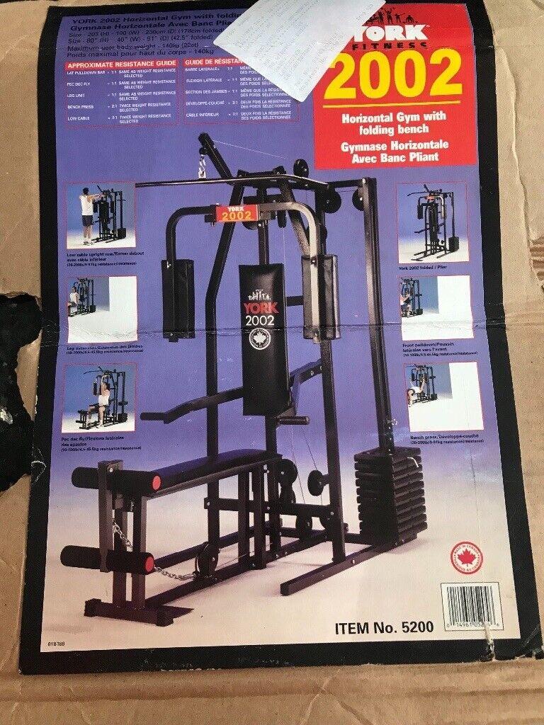 York Fitness 2002 multi gym | in Nuneaton, Warwickshire | Gumtree