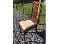 4 x Mahogany Chairs