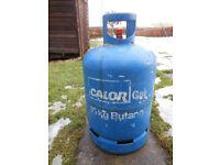 15KG BUTANE CALOR GAS BOTTLE -FULL – NO EMPTY REQUIRED + CLIP ON REGULATOR