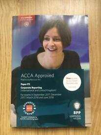 ACCA BPP P2 2017-2018 Practice and Revision Kit