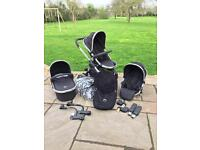 iCandy Peach 2 (& Blossom) pushchair/travel system - Single & Double