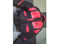 Ladies Buffalo Motorbike Jacket and Trousers Small
