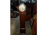 Mahogany Westminster Chimes Granddaughter clock
