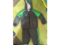 Baby's adidas tracksuit