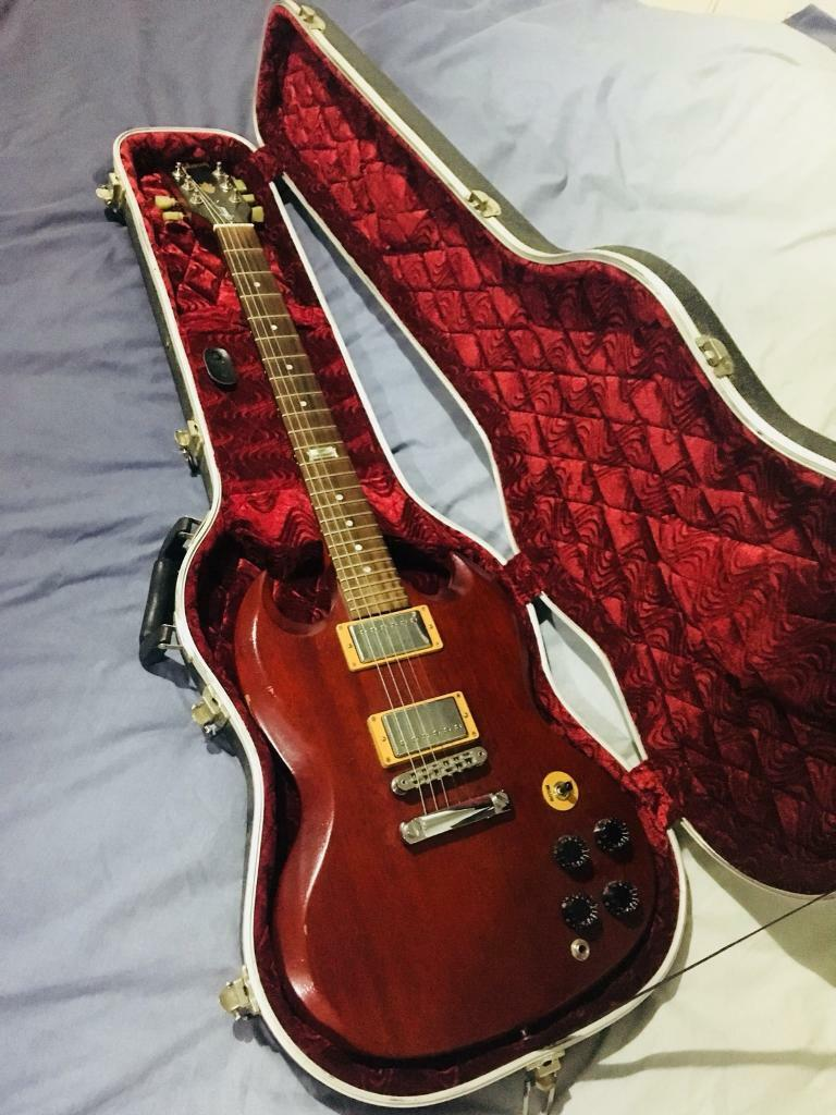 Gibson SG Special 2014, (120th anniversary edition), Cherry wood | in  Reading, Berkshire | Gumtree