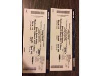 Pair of Craig David tickets