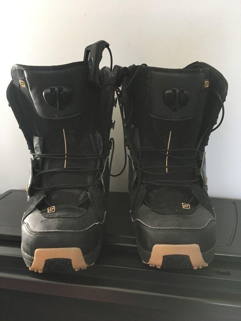 regarder bb450 bc3c4 Salomon Dialogue Mens 9.5 / 44 Wide Fit Snowboard Boots Excellent Condition    in Putney, London   Gumtree