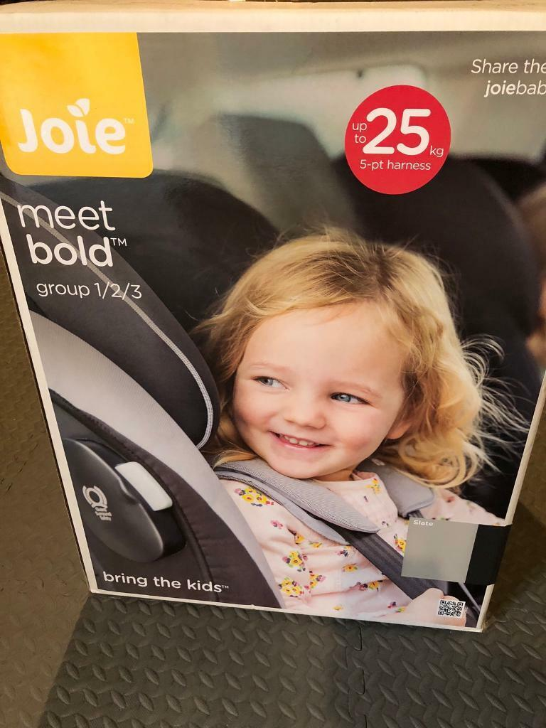 Joie Bold FX Group 1 2 3 ISOFIX Car Seat
