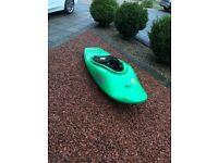 Kayak, Jackson fun, river running playboat