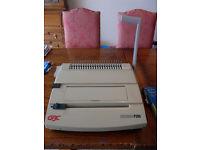 A4 Comb binding machine