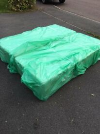 Brand new still wrapped Super King size bed base with drawers