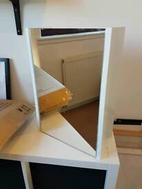 Bathroom Mirrored Cabinet with Adjustable Shelf - Never Used - Assembled