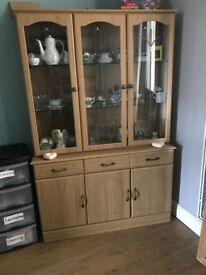 *CHEAP Large glass display cabinet