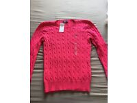 Brand new with tags Ralph Lauren ladies jumper