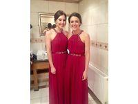 4 x Coast Bridesmaid dresses for sale