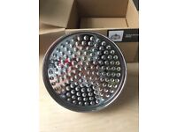 Chrome rainfall shower head - perfect. Brand new and boxed