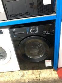 Beko black 8kg 5kg washer dryer. £350. new/graded. 12 month guarantee