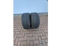 2 Michelin Pilot Sport 4 Tyres 225/40 ZR18 92Y
