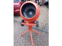 Screwfix Concrete / Cement Mixer for Sale - Excellent Condition 240V